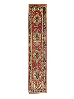 Momeni Indo-Serapi One-of-a-Kind Rug, Red, 2' 6