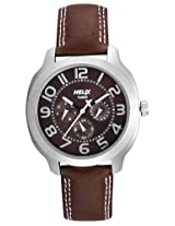 Helix Offshore Analog Brown Dial Men's Watch - TI018HG0200