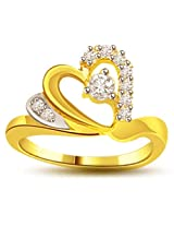 Surat Diamond 18K Yellow Gold Diamond Ring