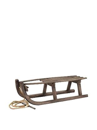 Jeffan Vintage Wood Sled, Natural