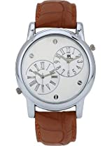 Iik Collection Analogue Silver Dial Men's Watch-Iik509M