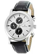 Maxima Attivo Analog White Dial Men's Watch - 26842LMGI