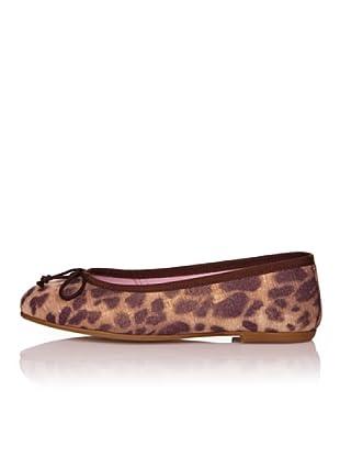 Bisué Bailarinas Textil Leopardo (Leopardo)