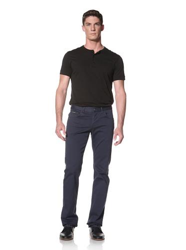LOVE Moschino Men's Caipiroska Twill Pant (Blue)