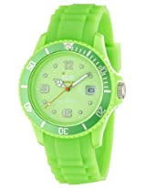Ice-Watch Unisex Green Dial Analog Wrist Watch (Sl.GN.U.S.09)