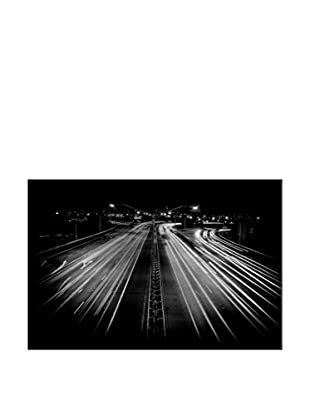 Critical Artery Photography On Mounted Metal