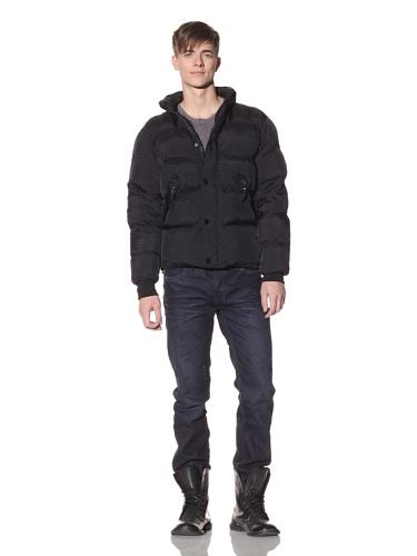Projek Raw Men's Nylon Puffer Jacket (Navy)