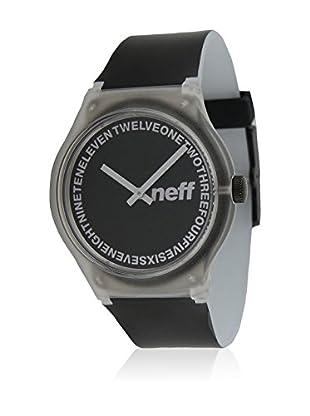 Neff Quarzuhr Clear schwarz 35  mm