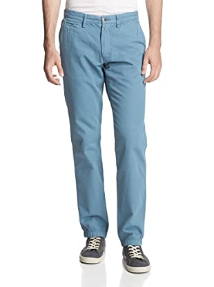 Original Paperbacks Men's Bayside Canvas Flat Front Pant (Wedgewood)