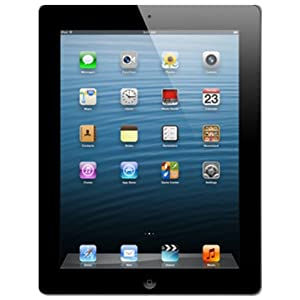 Apple iPad with Retina Display Tablet (9.7 inch, 16GB, Wi-Fi+ Voice Calling), Black