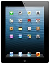 Apple iPad with Retina Display (16GB, WiFi + Cellular), Black