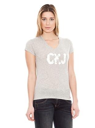 Calvin Klein Jeans Pintura M / C (Gris Melange)