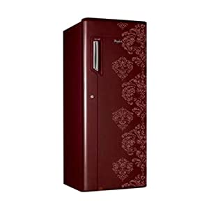 Whirlpool 205 IceMagic Refrigerator-Orchid