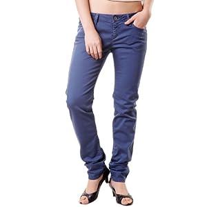 Sisley Blue Denim Slim Fit Women - Jeans