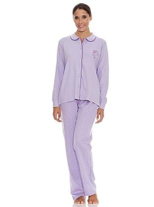 Bkb Pijama Señora (malva)