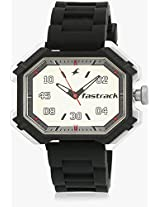 3100Sp01-Dc645 Black/White Analog Watch Fastrack