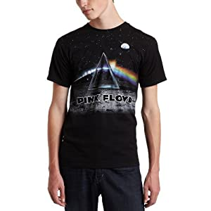 Liquid Blue Men's Pink Floyd Lander Tee, Black, XX-Large
