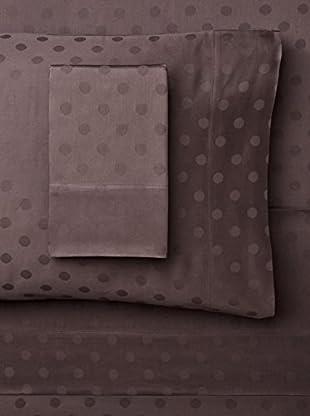 Westport Linens Dot Jacquard Sheet Set