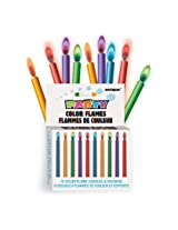 Colour Flame Candle - Pack of 12