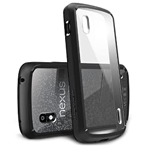 [Black] Google Nexus 4 Ringke [Fusion] Premium Hybrid Hard Case [Eco Package]