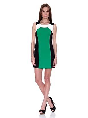 HHG Vestido Ursula (Negro / Blanco / Verde)