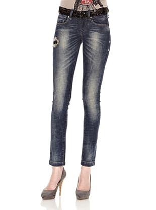 Fornarina Jeans Stretch (Blau)