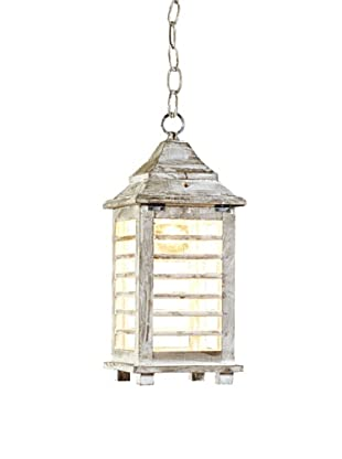 Shades of Light Wooden Shutter Lantern -Small