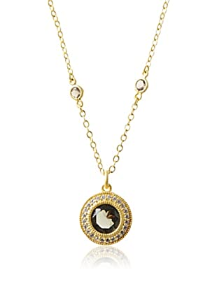 Belargo Round Bezel Necklace