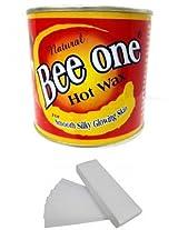 Beeone Hot Wax with 100 Wax Strips (600 g)