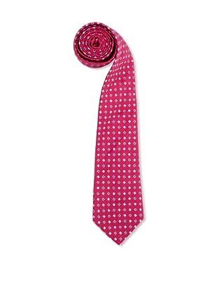 Olimpo Corbata Cuadros (Rojo)