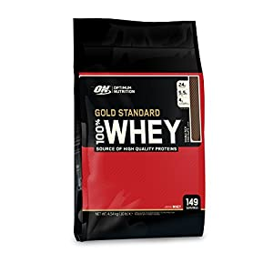 Optimum Nutrition (ON) 100% Whey Gold Standard - 10 lbs (Double Rich Chocolate)