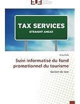 Suivi informatisé du fond promotionnel du tourisme: Gestion de taxe