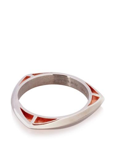 Katie Rowland Lilith Tri Stacker Ring (Black Rhodium/Rose)