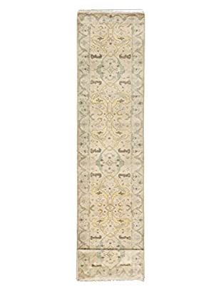 eCarpet Gallery One-of-a-Kind Hand-Knotted Royal Ushak Rug, Cream, 2' 7