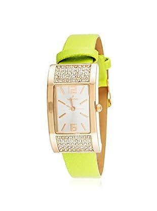 Via Nova Women's NWL305433Q-GR-Z Green Leather Watch