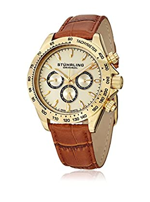 Stührling Original Uhr mit schweizer Quarzuhrwerk Man Triumph Classic 564L.02 braun