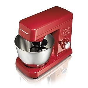 Hamilton Beach 63328 6 Speed Stand Mixer Red