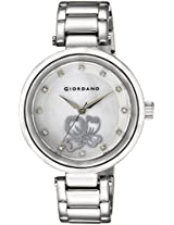 Giordano Analog Mother of Pearl Dial Women's Watch - A2008-22