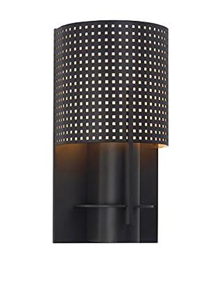 Sonneman Lighting Oberon Sconce, Black Bronze