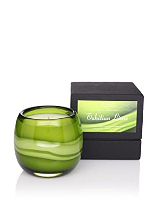 D.L. & Co. Tahitian Lime Artisanal Glass Candle