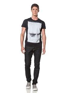 Rogue Men's Short Sleeve T-Shirt (Navy blue)