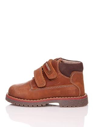 Pablosky Stiefel Costuras 2 Klettverschlüsse (Braun)