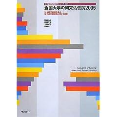 全国大学の研究活性度 2005―科学研究費補助金の採択研究課題数に関する調査 (2005) (科学研究費調査研究シリーズ No. 4)