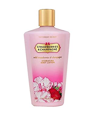 Victoria's Secret Bodylotion Strawberry & Champagner 250.0 ml, Preis/100 ml: 4.8 EUR