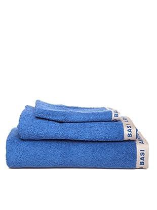 Armand Basi Estuche de toallas Logo Logo (Azul)