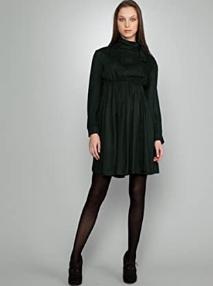 Dolores Promesas Vestido Print (verde / negro)