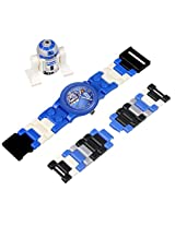 LEGO Kids 9002915 Star Wars R2D2 Plastic Watch With Minifigure