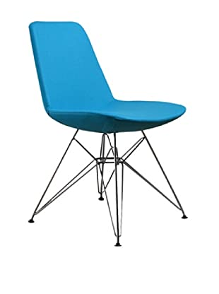 Aeon Furniture Paris 3 Side Chair, Set of 2, Turquoise