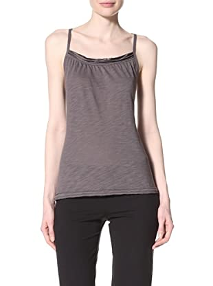 alo Sport Women's Shirred Relax Tank (Granite)