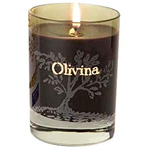 Olivina Lavender Candle Scented, 8.5 Ounce